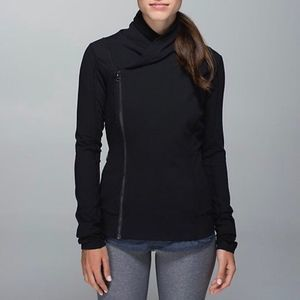 Lululemon Athletica Bhakti Yoga Jacket Black 4